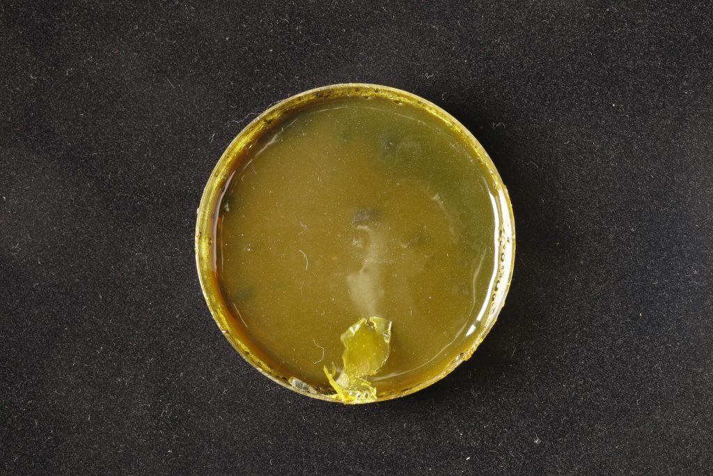 pojidlo: Dispersion 500D (Kremer), pigment: Titan orange (Kremer)