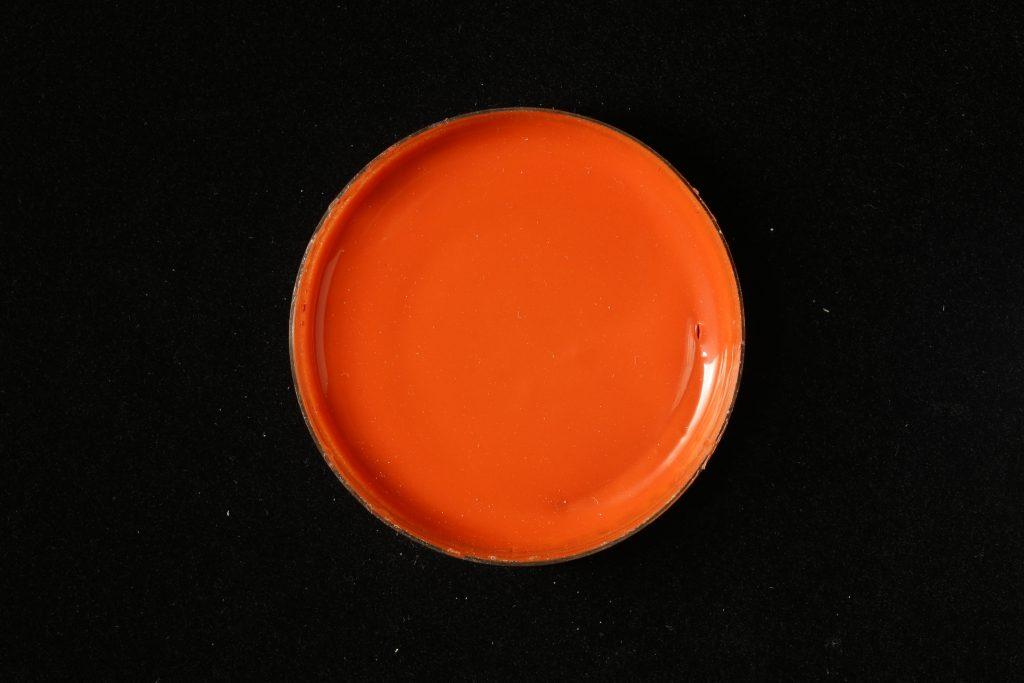 pojidlo: Primal AC35 (Kremer), pigment: Zinober (Kremer)